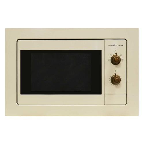Микроволновая Печь Zigmund & Shtain BMO 18.172 20л. 800Вт бежевый (встраиваемая) цена и фото