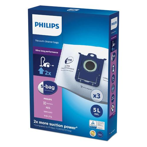 Пылесборники PHILIPS FC8027/01, универсальные, 3 шт., подходит для Performer Pro/Expert/Silent/Ultimate