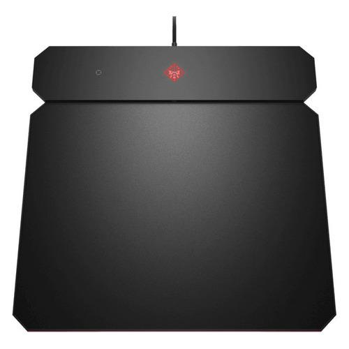 Коврик для мыши HP OMEN Outpost, Medium, с системой беспроводной зарядки черный [6cm14aa]