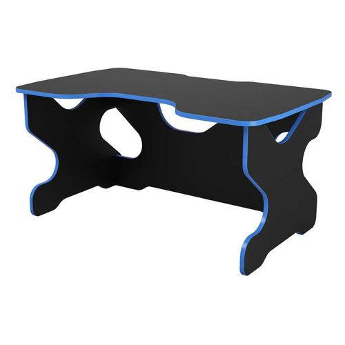 все цены на Стол игровой ВИТАЛ-ПК Райдер, ЛДСП, черный и синий онлайн