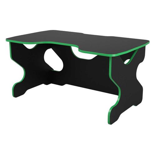 все цены на Стол игровой ВИТАЛ-ПК Райдер, ЛДСП, черный и зеленый онлайн
