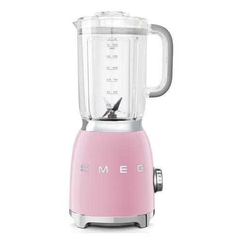 Блендер SMEG BLF01PKEU, стационарный, розовый стационарный