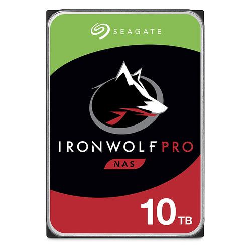 """Жесткий диск SEAGATE Ironwolf Pro ST10000NE0008, 10Тб, HDD, SATA III, 3.5"""" цена и фото"""
