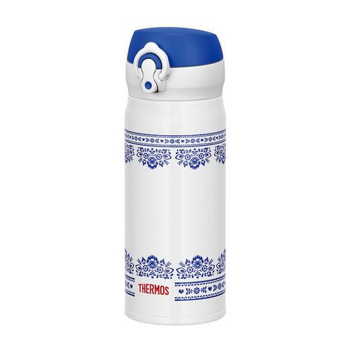 Термос THERMOS JNL-402, 0.4л, белый/ синий