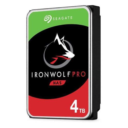 Жесткий диск SEAGATE Ironwolf Pro ST4000NE001, 4Тб, HDD, SATA III, 3.5 жесткий диск seagate ironwolf pro 4tb st4000ne001