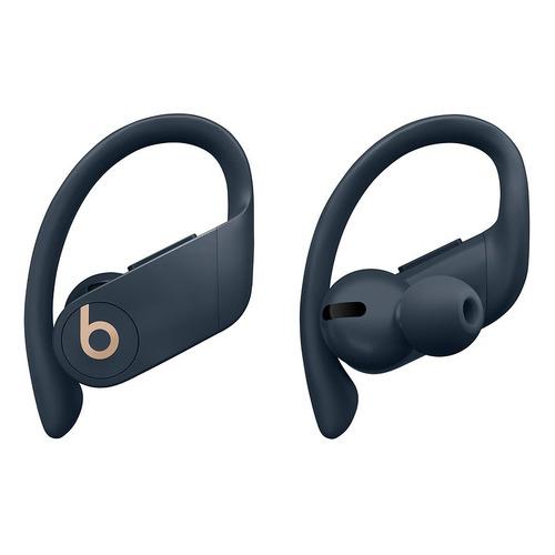 Наушники с микрофоном BEATS Powerbeats Pro, Bluetooth, вкладыши, темно-синий [mv702ee/a] наушники с микрофоном beats powerbeats 3 bluetooth вкладыши черный [ml8v2ee a]