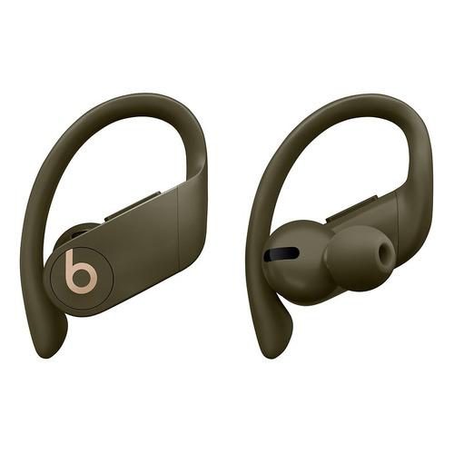 Наушники с микрофоном BEATS Powerbeats Pro, Bluetooth, вкладыши, оливковый [mv712ee/a] наушники с микрофоном beats powerbeats 3 bluetooth вкладыши черный [ml8v2ee a]