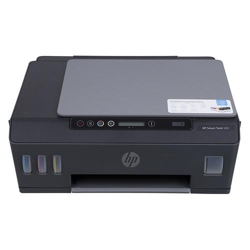 Фото - МФУ струйный HP Smart Tank 500 AIO, A4, цветной, струйный, черный [4sr29a] мфу струйный hp deskjet ink advantage 3835 a4 цветной струйный черный [f5r96c]