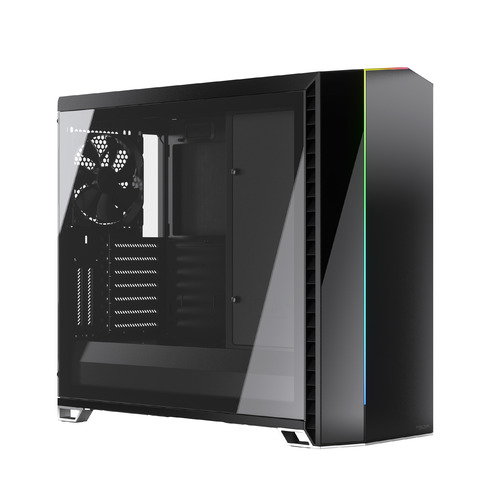 Корпус E-ATX FRACTAL DESIGN Vector RS Blackout TG, Full-Tower, без БП, черный [fd-c-ver1a-01]