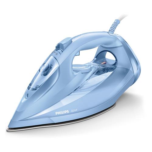 Утюг PHILIPS GC4535/20, 2400Вт, голубой утюг philips gc4535 20 azur голубой