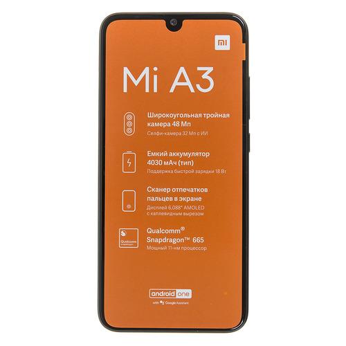 Смартфон XIAOMI Mi A3 64Gb, серый 24427