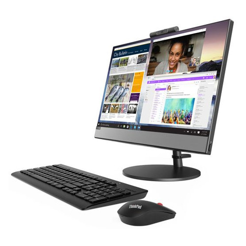 Фото - Моноблок LENOVO V530-22ICB, 21.5, Intel Core i5 9400T, 8ГБ, 256ГБ SSD, Intel UHD Graphics 630, DVD-RW, noOS, черный [10us00hqru] моноблок lenovo v530 22icb 21 5 intel core i5 9400t 8гб 256гб ssd intel uhd graphics 630 dvd rw windows 10 professional черный [10us00j5ru]