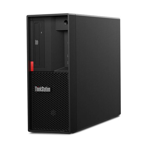 Рабочая станция LENOVO ThinkStation P330, Intel Core i7 9700, DDR4 16ГБ, 256ГБ(SSD), Intel UHD Graphics 630, DVD-RW, CR, Windows 10 Professional, черный [30cy002xru] рабочая станция lenovo thinkstation p330 tiny intel core i5 9500 ddr4 8гб 256гб ssd intel uhd graphics 630 windows 10 professional черный [30cf003fru]