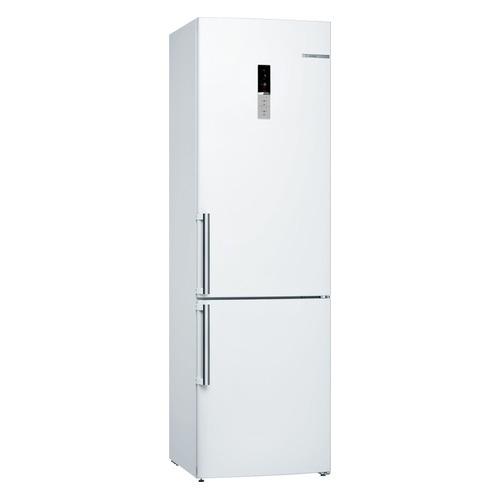 Холодильник BOSCH KGE39AW32R, двухкамерный, белый холодильник bosch kgn39xg34r двухкамерный золотистый
