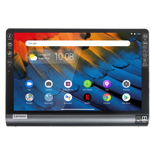 Планшет LENOVO Yoga Tablet YT-X705F, 3Гб, 32GB, Android 9.0 темно-серый [za3v0063ru] сенсорный экран для lenovo yoga 10 b8080 b8080 f b8080 h b8080