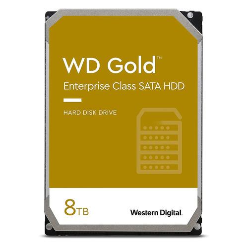 Жесткий диск WD Gold WD8004FRYZ, 8ТБ, HDD, SATA III, 3.5