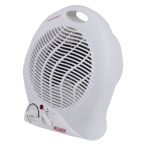 Тепловентилятор РЕСАНТА ТВС-2, 2000Вт, белый [67/2/2] тепловентилятор ресанта твс 2