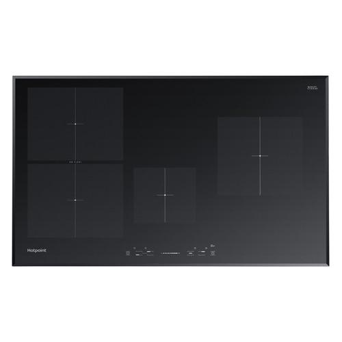 Индукционная варочная панель HOTPOINT-ARISTON KIS 841 F B, индукционная, независимая, черный варочная панель электрическая ariston kis 841 f b черный
