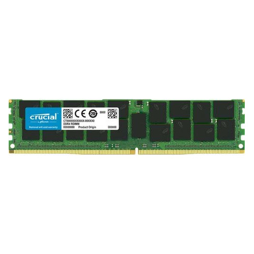Память DDR4 Crucial CT64G4YFQ426S 64Gb DIMM ECC LR PC4-21300 CL22 2666MHz