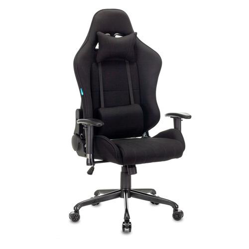 Кресло игровое БЮРОКРАТ CH-783, на колесиках, ткань, черный [ch-783/black]