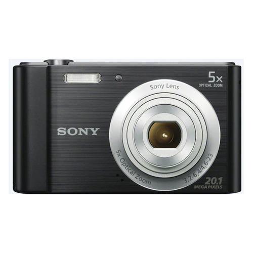 лучшая цена Цифровой фотоаппарат SONY Cyber-shot DSC-W800, черный