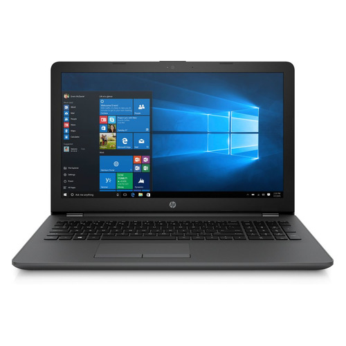 Ноутбук HP 250 G6, 15.6, Intel Core i3 5005U 2.0ГГц, 4Гб, 500Гб, Intel HD Graphics 5500, DVD-RW, Windows 10 Home, 7QL92ES, темно-серебристый ноутбук asus vivobook a540la dm1276t 15 6 intel core i3 5005u 2 0ггц 4гб 500гб intel hd graphics 5500 windows 10 90nb0b01 m24820 черный