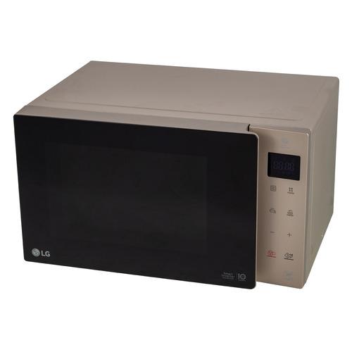 Микроволновая Печь LG MW25R35GISH 25л. 1000Вт бежевый/черный микроволновая печь lg mh6342bb черный