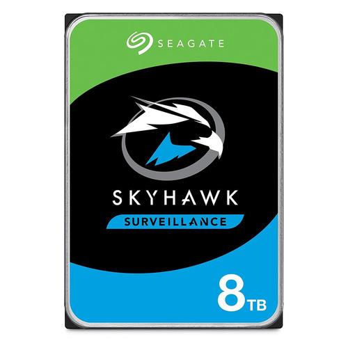 "Жесткий диск SEAGATE Skyhawk ST8000VX004, 8Тб, HDD, SATA III, 3.5"" seagate skyhawk guardian surveillance 4000гб 3 5 hdd"