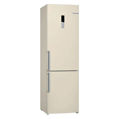 Холодильник BOSCH KGE39AK32R, двухкамерный, бежевый холодильник bosch kgn39xg34r двухкамерный золотистый