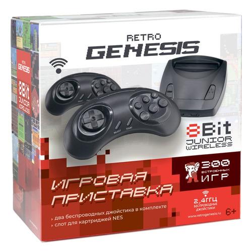 Фото - Игровая консоль RETRO GENESIS Junior черный игровая консоль retro genesis modern 170 игр два джойстика черный