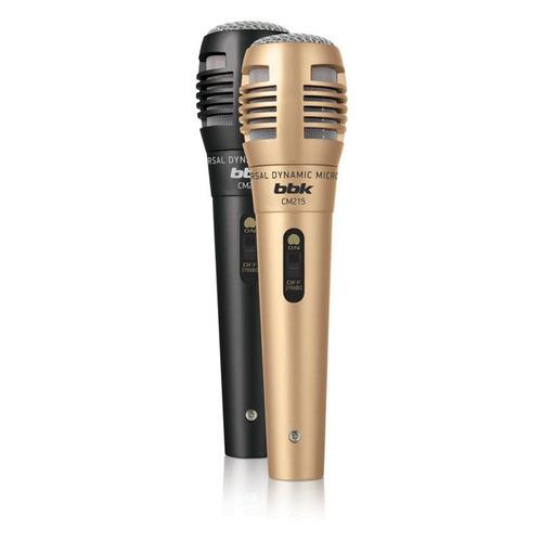 Фото - Микрофон BBK CM215, черный/шампань [cm215 (b/cm)] микрофон bbk cm215 черный шампань