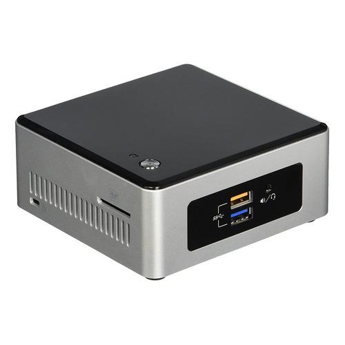 Неттоп IRU NUC 111, Intel Celeron N3050, DDR3L 4Гб, 60Гб(SSD), Intel HD Graphics, CR, Windows 10 Professional, черный и серебристый [1173511] неттоп iru 317 1031368