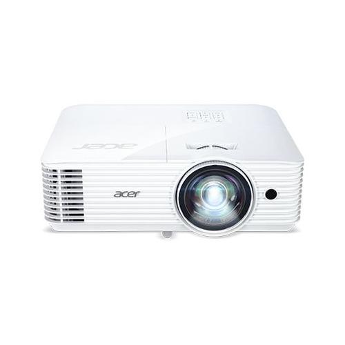 Фото - Проектор ACER S1386WHn, белый [mr.jqh11.001] мультимедийный проектор infocus in136st black dlp 1280 х 800 16 10 4000 lm 28500 1