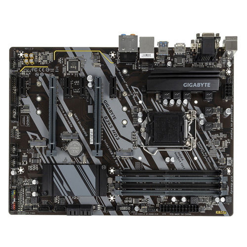Материнская плата GIGABYTE B365 HD3, LGA 1151v2, Intel B365, ATX, Ret