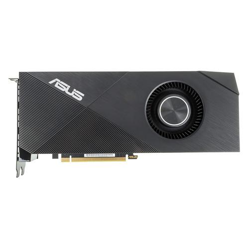 Видеокарта ASUS nVidia GeForce RTX 2060SUPER , TURBO-RTX2060S-8G-EVO, 8ГБ, GDDR6, Ret видеокарта asus nvidia geforce rtx 2080 super turbo evo pci e 8192mb gddr6 256 bit retail turbo rtx2080s 8g evo