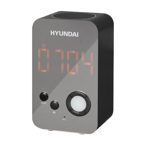 Радиобудильник HYUNDAI H-RCL300, черный