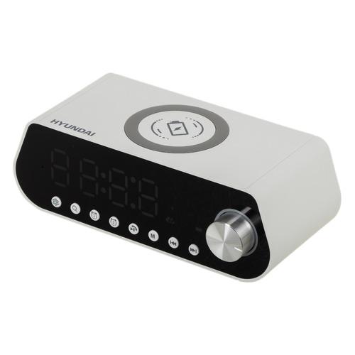 Радиобудильник Hyundai H-RCL380, белый