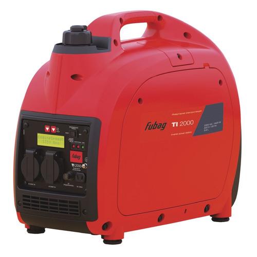 Бензиновый генератор FUBAG TI 2000, 220 В, 2кВт [838979] fubag ti 1000