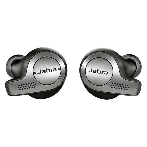 Наушники с микрофоном JABRA Elite 65t, Bluetooth, вкладыши, графит [100-99000000-60] bluetooth гарнитура jabra boost white