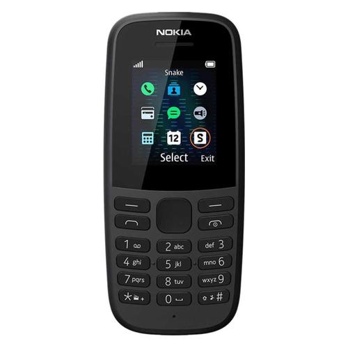Мобильный телефон NOKIA 105 SS TA-1203, черный nokia 105 ss black