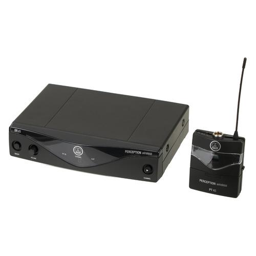 цена на Радиосистема AKG Perception Wireless 45 Sports Set BD U2 (614-634) беспровод. черный