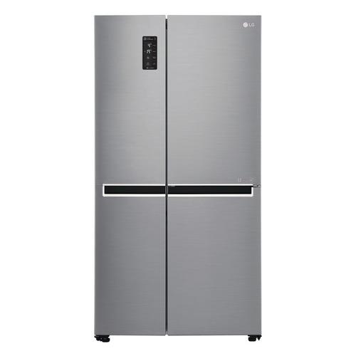 Холодильник LG GC-B247SMUV, двухкамерный, серебристый холодильник lg gc b519pmcz серебристый