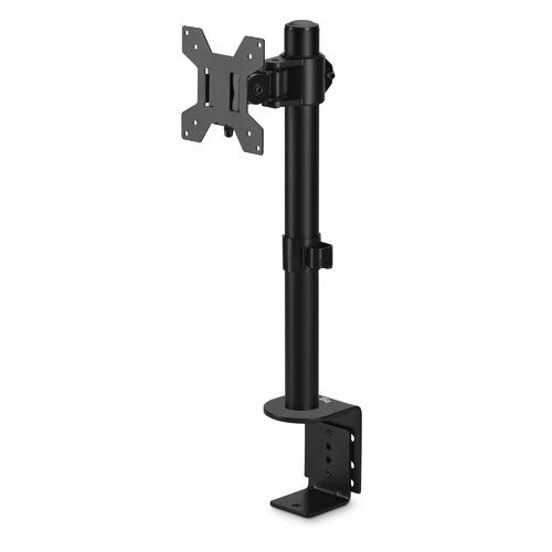 Фото - Кронштейн для мониторов ЖК Buro M061 черный 15-32 макс.8кг крепление к столешнице поворот и наклон кронштейн