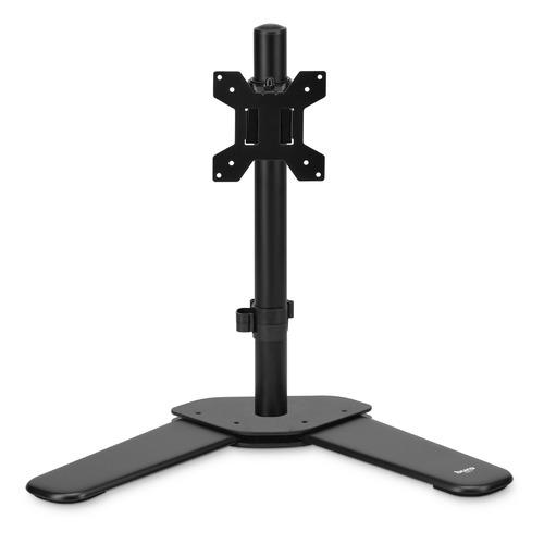 Фото - Кронштейн для мониторов ЖК Buro M071 черный 15-32 макс.8кг крепление к столешнице поворот и наклон кронштейн для монитора рэмо к 501