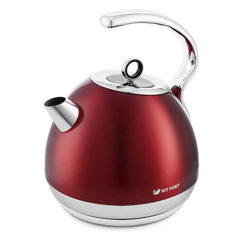 Чайник электрический KITFORT KT-665-2, 1800Вт, красный