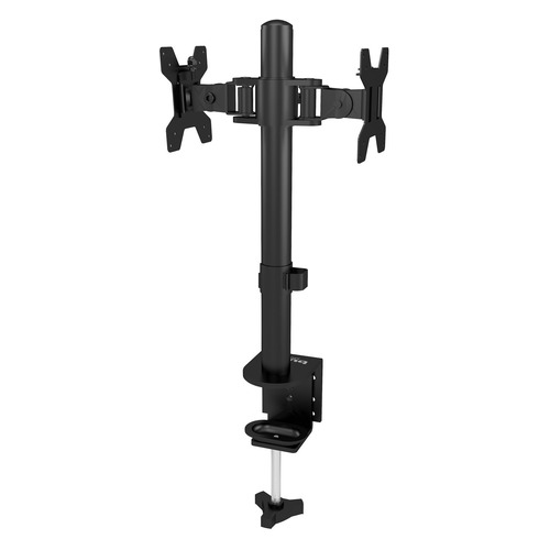 Фото - Кронштейн для мониторов ЖК Buro M062 черный 17-27 макс.8кг потолочный поворот и наклон кронштейн для монитора рэмо к 501