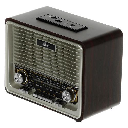 Радиоприемник RITMIX RPR-088, коричневый все цены