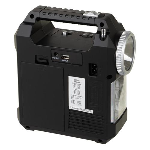 Радиоприемник RITMIX RPR-444, черный usb тв тюнер аналоговый