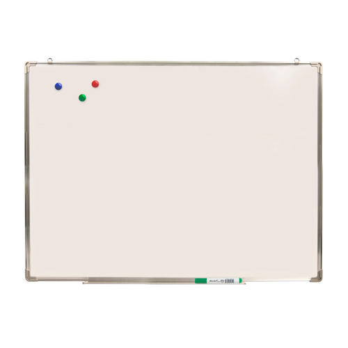 Фото - Демонстрационная доска Silwerhof 651027 магнитно-маркерная лак 90x120см алюминиевая рама лоток для а лак