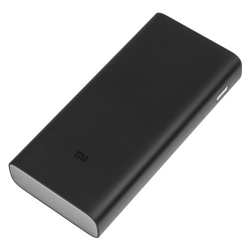 Внешний аккумулятор (Power Bank) XIAOMI Mi Power Bank 3 Pro, 20000мAч, черный [x22234/vxn4254gl] аккумулятор xiaomi mi power bank 3 10000mah silver